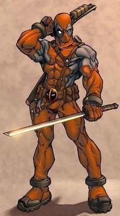 #Deadpool #Fan #Art. (Deadpool) By: Patrick Brown. ÅWESOMENESS!!!™ ÅÅÅ+ 2. 0.
