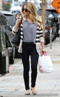 Lauren Conrad ** Love this look, already thinking about fall fashion!