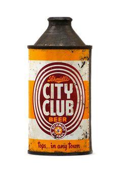 City Club Beer // #beer #packaging #throwback