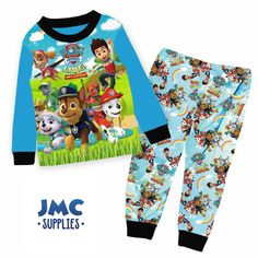 b9f220a694 Official Character Pyjamas Pajamas Pjs Girls Boys Kids Toddlers Disney PJ  Masks
