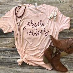 Jesus Vibes Shirt / Christian Shirt/ Jesus Shirt/ Faith