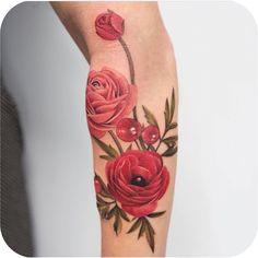 """7,480 curtidas, 11 comentários - Tattoodo (@tattoodo) no Instagram: """"@joicewang.nyc 💐 #TATTOODO"""""""