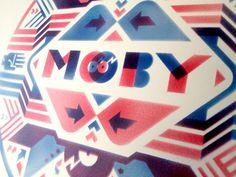 Moby Poster (Decibel Festival) on Behance