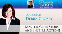 Are you prepared for LIGHTS CAMERA ACTION? Award-winning Media Coach Debra Crosby has taught thousands how to present themselves successfully via networking events, public speaking engagements, radio interviews, video blogs, commercials, television shows and even in Hollywood films.  Debra shares breathing techniques, how to stop saying UM and AH, what it takes to be a TEDx Talk presenter and much more. Click the play button to watch - thank you! ♥