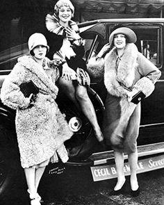 1927 Lincoln Sedan Factory Photo Sally Rand
