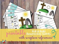 If you're looking for a way to help your kids understand what Easter is all about, this Resurrection Easter game is a fun way to introduce it to them. Easter Crafts For Kids, Easter Ideas, Easter Recipes, Easter Traditions, Family Traditions, Easter Activities For Kids, Catholic Kids, Bible Lessons For Kids, Easter Party
