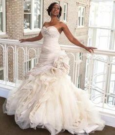 Gina Copeland Jackson | La Raine's Bridal Boutique | Ian Stuart Gown: Atlantis