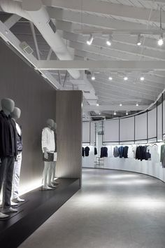 Nendo has designed two shop interiors for Theory in Los Angeles, California.