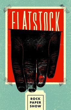Flatstock2.jpg (JPEG Image, 600x927 pixels) / illustration, poster