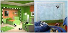 Resultado de imagem para decoração quarto infantil futebol