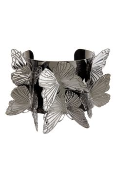 Butterfly Cluster Cuff ~