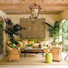 Decorating A Lanai In Florida Comfy Lanai We Wanted A
