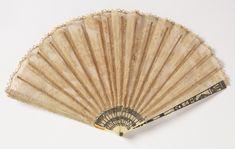 Pleated Fan, ca. 1820