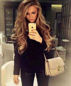 Long Loose Curls Fashion Colors