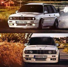 BMW E30 3 series | classic | BMW | E series | white | sedan