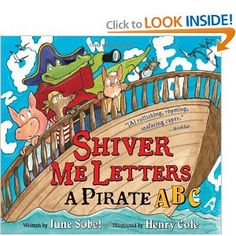 Pirate Alphabet book