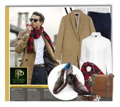 """""""Paul Parkman - Men's shoes and belts"""" by monmondefou ❤ liked on Polyvore featuring TheLees, J.Crew, H&M, Impulse and Ray-Ban"""