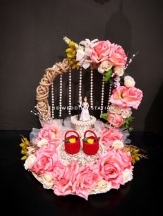 Station deals in- *Wedding planning and event planning *Decorators and Caterers *Best in class. Birthday Room Decorations, Wedding Stage Decorations, Engagement Decorations, Desi Wedding Decor, Wedding Crafts, Gift For Raksha Bandhan, Diy Engagement Gifts, Bridal Gift Wrapping Ideas, Engagement Ring Platter