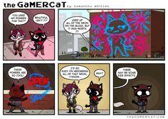 GamerCat   Neon Vibes