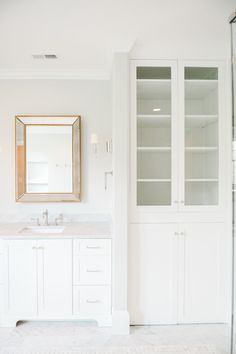 Charmant Ashburn Project: A Classic Home In Virginia. Closet Built InsBathroom ...
