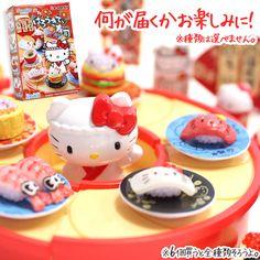 Hello Kitty sushi toys #Hellokitty