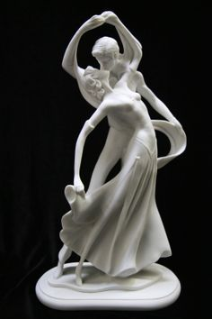Romanitic Couple Kiss Italian Statue Sculpture Figurine Dancer Made in Italy | eBay I really like this one white! ($69.95)