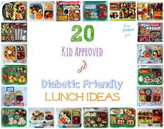 20 Kid Approved & Diabetic Friendly Lunch Ideas