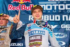 Cooper Webb went 1-1 at the 2016 RedBud National, round six of the Lucas Oil Pro Motocross Championship. PHOTO BY RICH SHEPHERD.