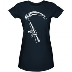 dc80997d9d10 Sons of Anarchy Scythe Gun Women s T-Shirt Sons Of Anarchy