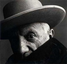 Pablo Picasso by Irving Penn, Spain