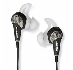 Bose QuietComfort 20 In-ear Noise-cancelling Headphones earbuds