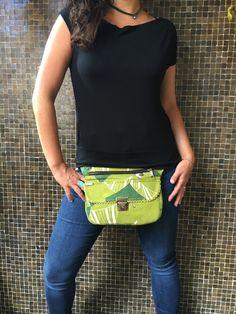 Bolso de Cadera Riñonera Bandolera de diseño: Greens por CAOMKA