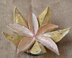 Ceramic Flower by ZenCeramics Ceramic Flowers, Clay Flowers, Hand Sculpture, Art Sculptures, Zen, Ceramic Techniques, Unique Wall Art, Contemporary Ceramics, Exotic Flowers