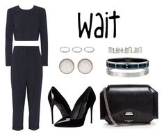 """""""Wait"""" by anaelle2 ❤ liked on Polyvore featuring DKNY, Dolce&Gabbana, Givenchy, Balenciaga, Cartier, Hermès and Maison Margiela"""