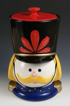 Nutcracker Cookie Jar by Neiman Marcus