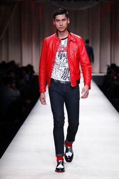 Moschino Spring 2014 Menswear Fashion Show