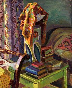 Duncan Grant, The Bedside Lamp  on ArtStack #duncan-grant #art