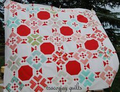 Penny Candy by traceyjay quilts featuring Bonny and Camille's Vintage Modern fabric...I must have this   pattern and fabric!  I want to make this quilt next!