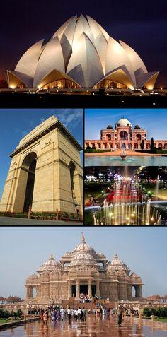 Delhi. #TravelToIndia | #Delhi | #Architecture http://www.mcssl.com/app/?af=1625340
