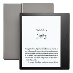 #Kindle Oasis, il nuovo E-reader da portare ovunque..anche in piscina!