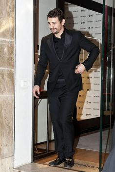 James Franco wearing the Gucci 1953 Horsebit Loafer