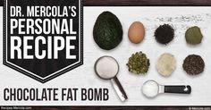Dr. Mercola's Chocolate Fat Bomb Recipe