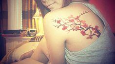 cherryblossoms tattoo