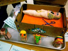 2nd Grade Ancient Egypt Project: Mummies