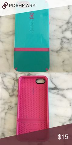 iPhone 5/5s Speck case Turquoise and pink iPhone 5/5s iphone case from Speck. Hard and protective candyshell case for your iPhone Speck Accessories Phone Cases