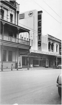 West's Picture Theatre, Hindley Street, Adelaide, Now the home of the Adelaide Symphony Orchestra. City Of Adelaide, Adelaide South Australia, Australian Continent, Largest Countries, West End, Small Island, Historical Photos, Continents, Old Photos