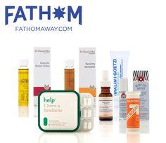 Travel Beauty Products, TSA Approved Beauty Products, Travel Size Fathom Jetlag Kit - 3floz
