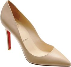 Louboutin Pigalle 100mm - great height, color, and style to wear with suits