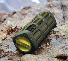 Shoqbox - A bluetooth speaker from Phillips that's shock and splash proof (comes with a rechargeable lithium-ion battery that will last for 8 hours on a single charge)