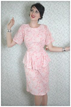 peplum dress extra size
